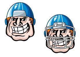 Cartoon player head