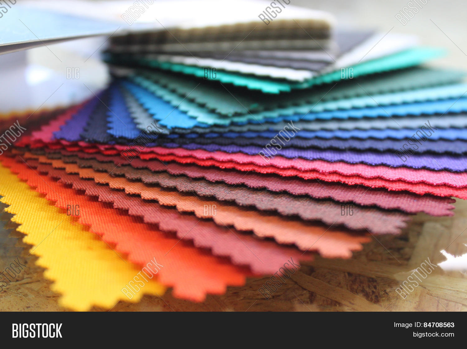 Rainbow Book Cover Material : Fabric rainbow color swatch book image photo bigstock