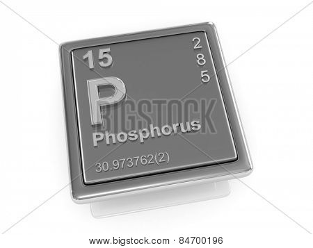 Phosphorus. Chemical element. 3d