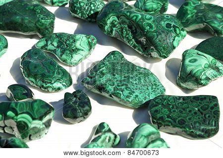 Malachite Mineral Specimens