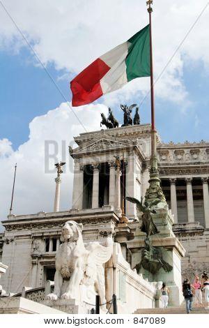 Homeland's Altar in Rome - Detail
