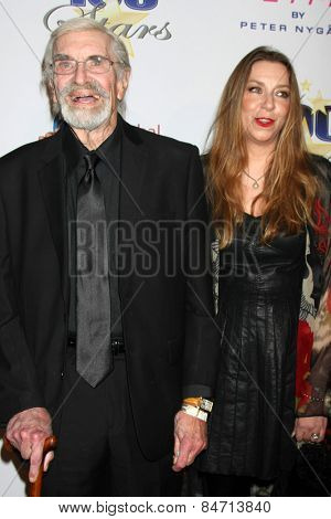 LOS ANGELES - FEB 22:  Martin Landau, Susan Landau Finch at the Night of 100 Stars Oscar Viewing Party at the Beverly Hilton Hotel on February 22, 2015 in Beverly Hills, CA