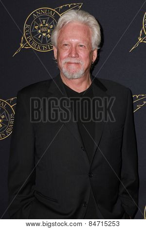 LOS ANGELES - FEB 20:  Bruce Davison at the Publicist Guild Luncheon at a Beverly Hilton Hotel on February 20, 2015 in Beverly Hills, CA