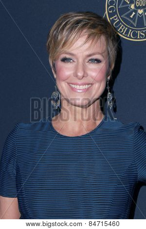 LOS ANGELES - FEB 20:  Melora Hardin at the Publicist Guild Luncheon at a Beverly Hilton Hotel on February 20, 2015 in Beverly Hills, CA