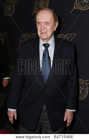 LOS ANGELES - FEB 20:  Bob Newhart at the Publicist Guild Luncheon at a Beverly Hilton Hotel on February 20, 2015 in Beverly Hills, CA