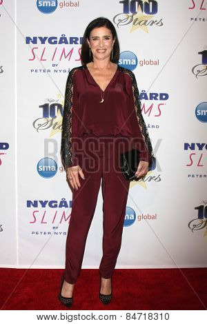 LOS ANGELES - FEB 22:  Mimi Rogers at the Night of 100 Stars Oscar Viewing Party at the Beverly Hilton Hotel on February 22, 2015 in Beverly Hills, CA