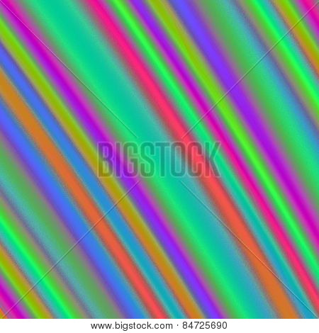Multicolor metallic ripples