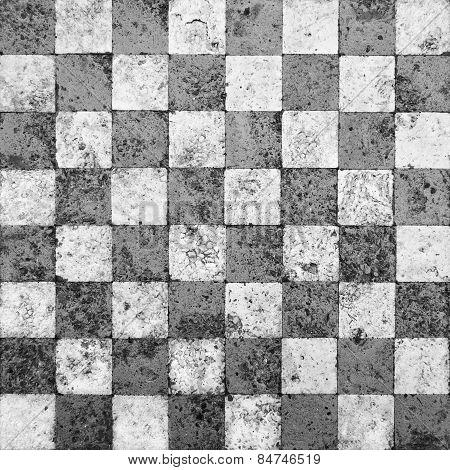 Grunge Checkered Background