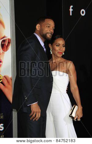 LOS ANGELES - FEB 24:  Will Smith, Jada Pinkett Smith at the