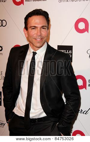 LOS ANGELES - FEB 22:  William Dorfman, DDS at the Elton John Oscar Party 2015 at the City Of West Hollywood Park on February 22, 2015 in West Hollywood, CA