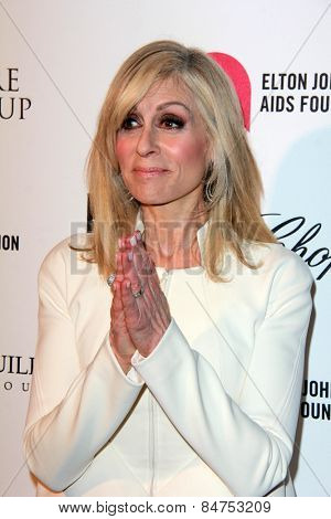 LOS ANGELES - FEB 22:  Judith Light at the Elton John Oscar Party 2015 at the City Of West Hollywood Park on February 22, 2015 in West Hollywood, CA