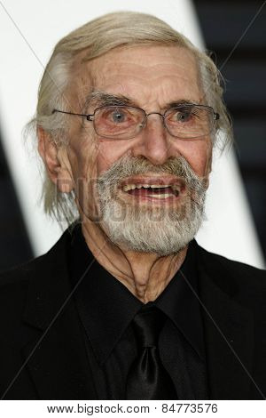 LOS ANGELES - FEB 22:  Martin Landau at the Vanity Fair Oscar Party 2015 at the Wallis Annenberg Center for the Performing Arts on February 22, 2015 in Beverly Hills, CA