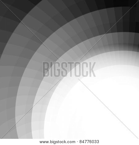 abstract geometrical shades