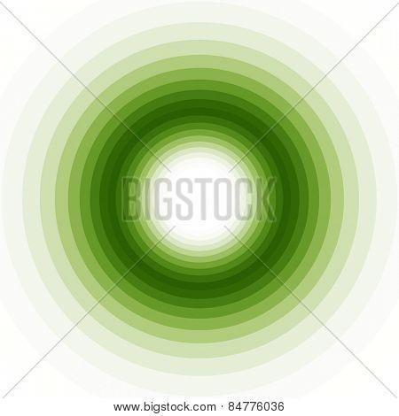 geometric green shades background
