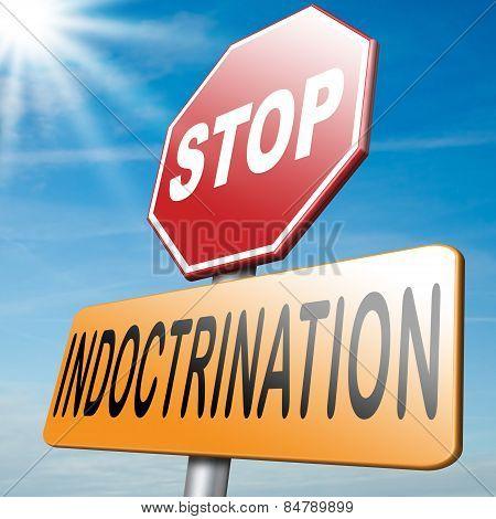 No Indoctrination