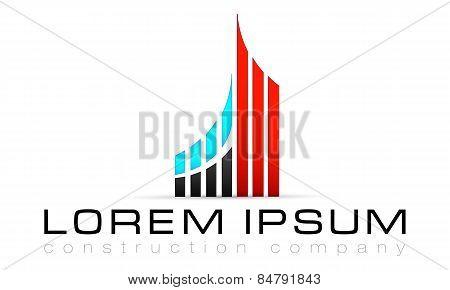 Logo template, construction