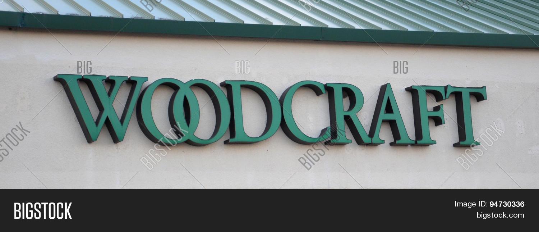 Woodcraft Store Logo Image & Photo (Free Trial) | Bigstock