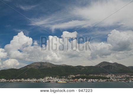 Spectacular Sky Over Igoumenitsa