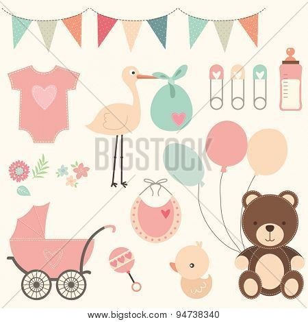 Baby Shower Set
