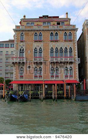 Traditional Venetian houses, Italy