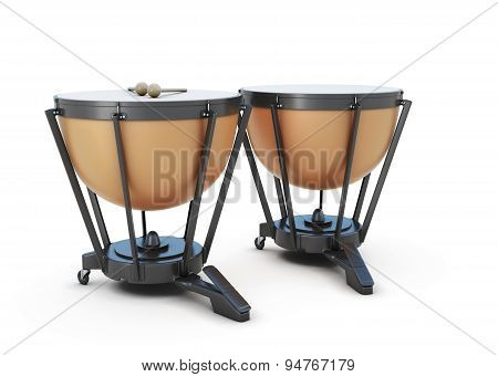 Timpani Isolated