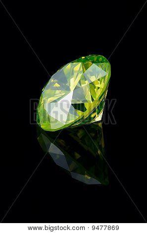 Green Brilliant / 1.5 ct