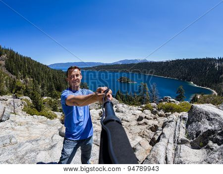 Selfie In Emerald Bay