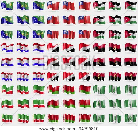 Christmas Island, Myanmarburma, Jordan, Mordovia, Sealand Principality, Angola, Chechen Republic, Be