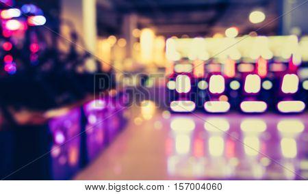 Blur Arcade Game Machine Shop .