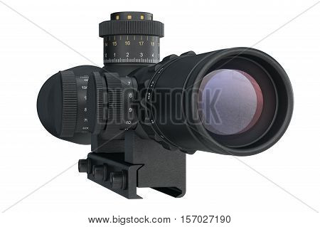 Scope Optical Military Equipment, Back View