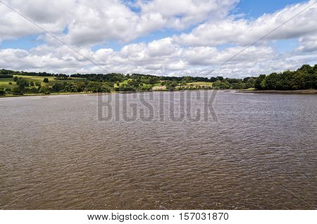 River Blackwater near the town of Youghal in Co.CorkIreland