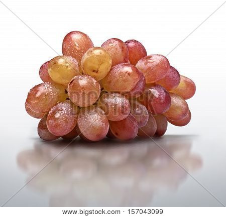 One Sort Of Grapes Freshly Washed