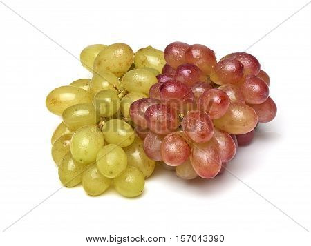 Two Sorts Of Grapes, Freshly Washed
