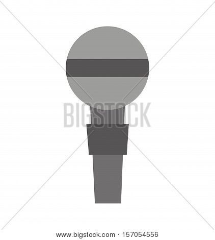 microphone device isolated icon vector illustration design