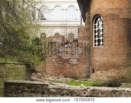 Rotunda Sveti Georgi In Sofia, Bulgaria, Detail