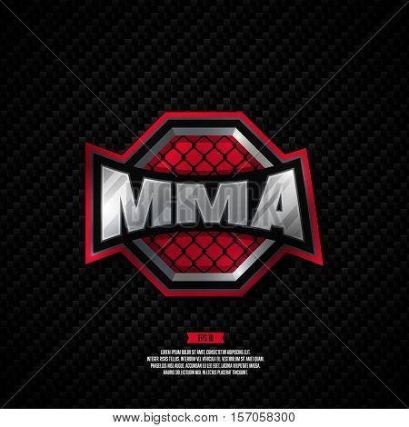 Mixed Martial Arts Logo.