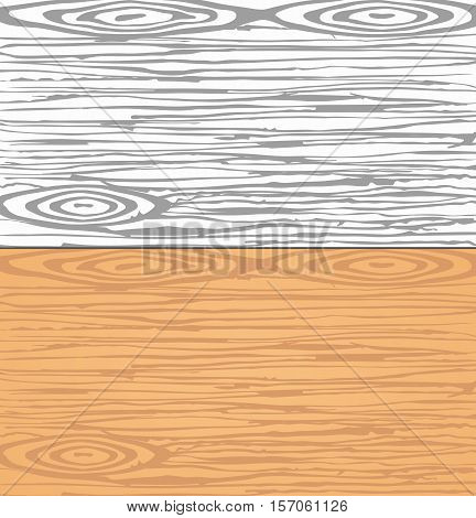 Set of grey and brown wooden planks, wall. Cutting or chopping boards. Wood texture.