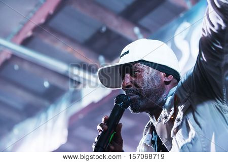 Close Up On Pato Banton At The Wild Goose Festival