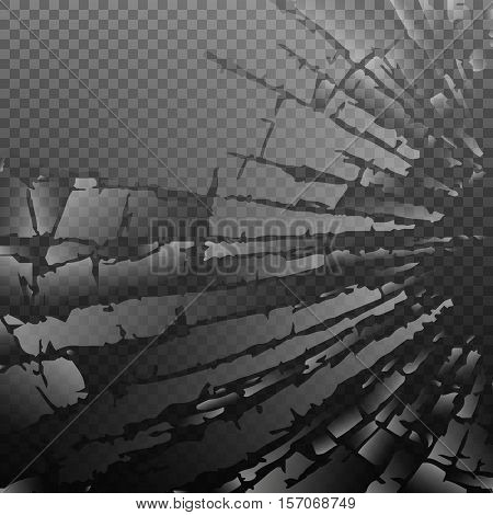 Abstract broken glass background, Vector illustration EPS10