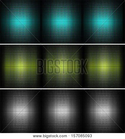 three color vector background for your future use