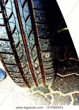 Tire Puncture