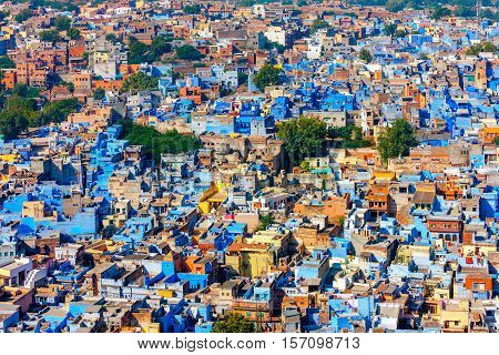 Jodhpur, The Blue City Of Rajasthan, India