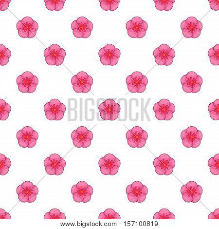 The Rose of Sharon pattern. Cartoon illustration of the Rose of Sharon vector pattern for web