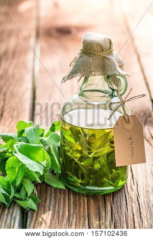 Healthy Tincture In Bottles As An Alternative Cure