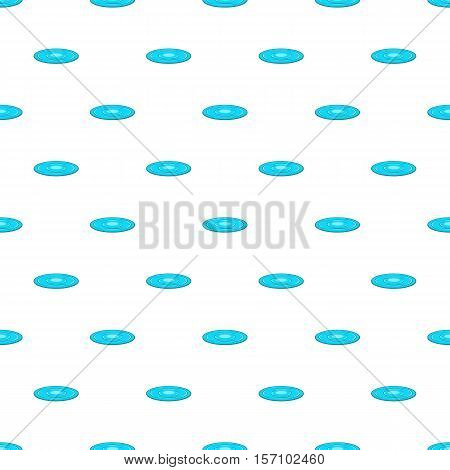 Concentric circles on a water pattern. Cartoon illustration of concentric circles on a water vector pattern for web