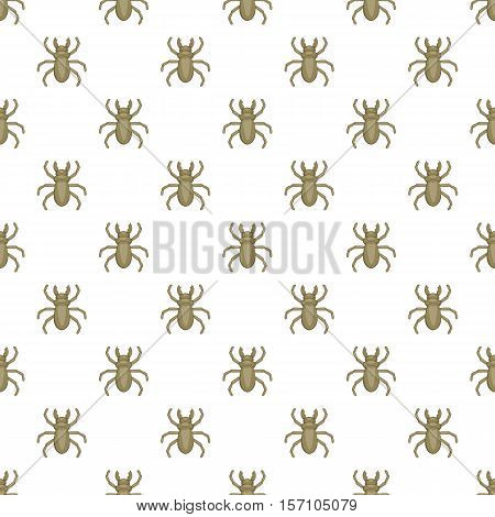 Louse pattern. Cartoon illustration of louse vector pattern for web