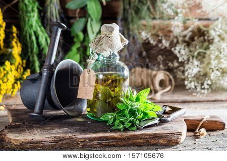 Therapeutic Herbs In Bottles As An Alternative Cure