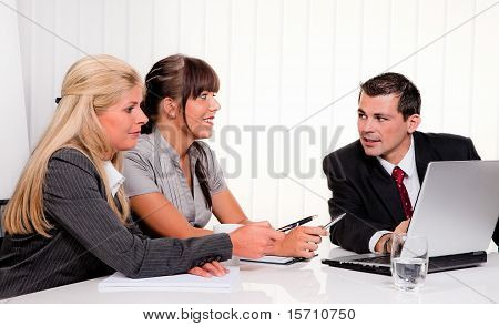 Discussion at a consultation