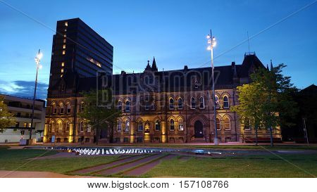 Middlesbrough Townhall in Teesside, North East Of England