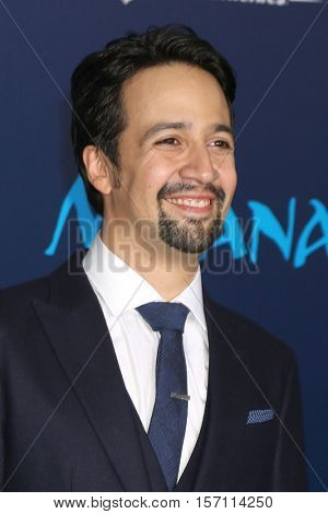 LOS ANGELES - NOV 14:  Lin-Manuel Miranda at the